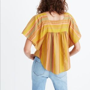 Madewell NEVER WORN Butterfly Top